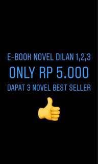 E-Book Novel Dilan 1,2,3