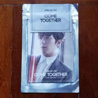 Cnblue Come Together~YH perfume card