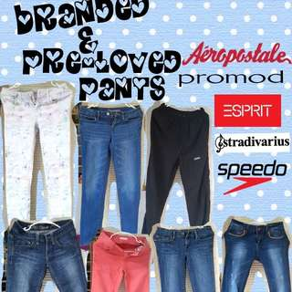 Pre-loved and Branded Pants