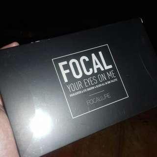 New! Focallure eyeshadow and highlighter palette