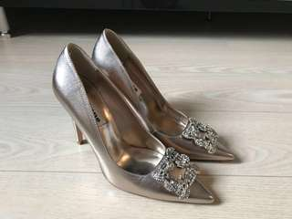 Dune London 晚裝鞋 (99%新)(香港Sogo 也有這牌子:D)