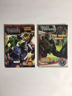 Transformers Junior Novel