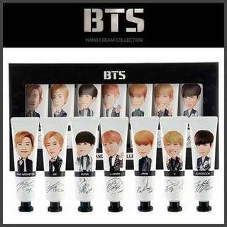 BTS Hand Cream Collection