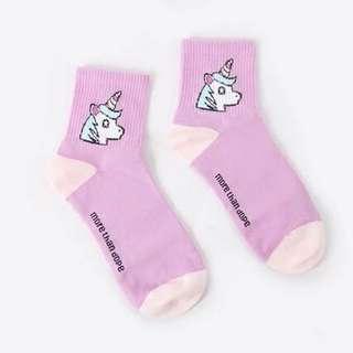 Unicorn Ulzzang socks