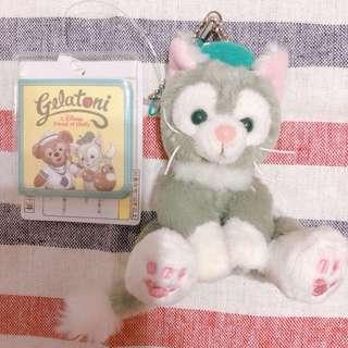 保證正貨全新現貨日本迪士尼畫家貓 傑拉東尼坐姿吊飾