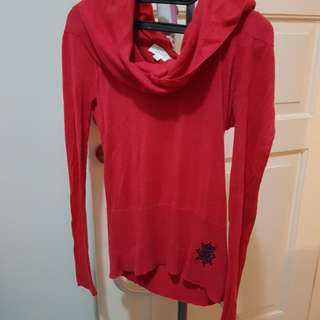 Blouse sweater Red
