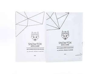 💁🏼有機純素護膚品牌Snow Fox Cooling Mask
