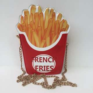 FRENCH FRIES CARTOON BAG