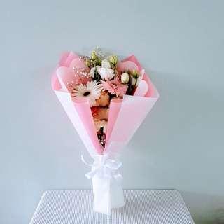 #013 Gerberas Roses Bouquet