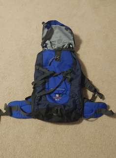 NEW 50L travel backpack