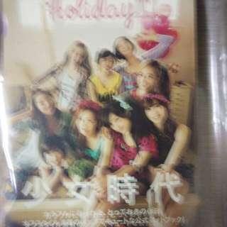 Girl's Generation Holiday photobook