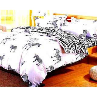 BEDSHEET COMFORTER SET 6 IN 1