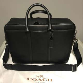 100% GENUINE Coach briefcase