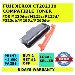 [INSTOCKS] CT202330 Fuji Xerox High Yield Compatible Toner M225dw M225z P225d P225db P265dw M265z