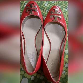 auth tory burch doll shoes