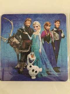 Puzzle- frozen theme party goodies bag packages, goody bag item, door gift