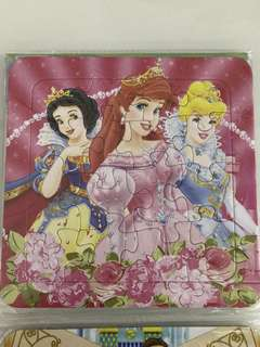 Puzzle - princess theme party goodies bag packages, goody bag item, door gift