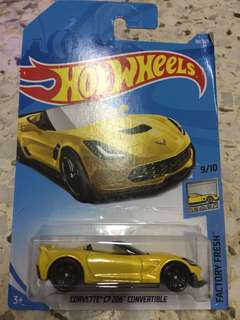 Hot Wheels Corvette C7 Z06 Convertible