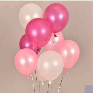 Party decorations - Non Helium balloons