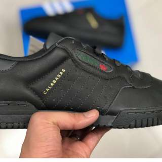 Adidas Powerphase Calabasas Core Black-Size 7 US mens
