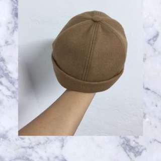 駝色瓜皮帽