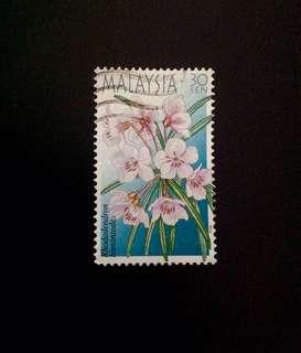 Malaysia 2000 Highland Flowers 1V Used (0346)
