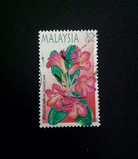 Malaysia 2000 Highland Flowers 30c Used (0346)