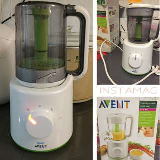 Avent Steamer & Blender Combined