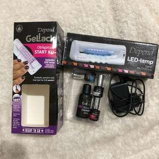 Nail gel starter kit