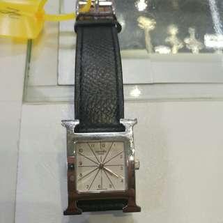 Hermes watch stamp b 裸錶