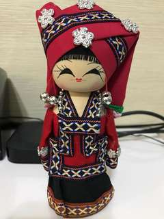 Ethnic Wooden Doll