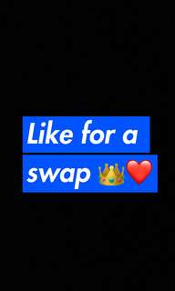 Like for a swap