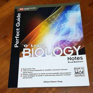 🚚 [INSTOCK] O LVL PURE BIOLOGY notes