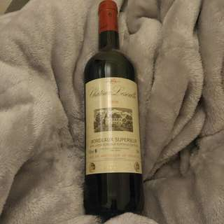 Chateau Lescalle (原價$110) Bordeaux Superieur 2010 紅酒