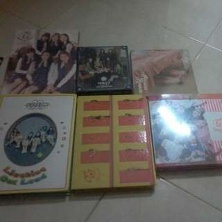 Clearance album rv,gfriend,twice