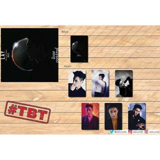 ZHANG YIXING LOSE CONTROL PHOTO CARDS