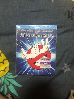 Brand New Ghostbusters1 & 2 4K blu ray disc (sealed)