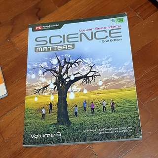 🚚 [INSTOCK] Lower Secondary Science Matters 2nd edition