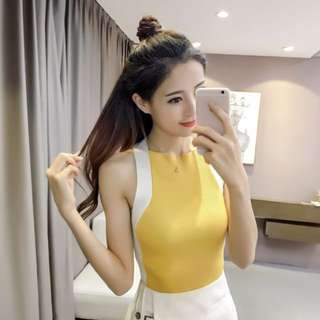 Slim Fit knitted Top