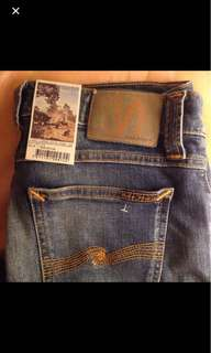 New Nudie Jeans