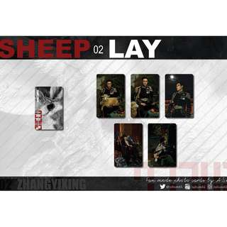 ZHANG YIXING SHEEP 02 LAY PHOTO CARDS