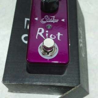 Suhr Riot mini new distortion pedal