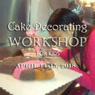 Two-day cake decorating workshop