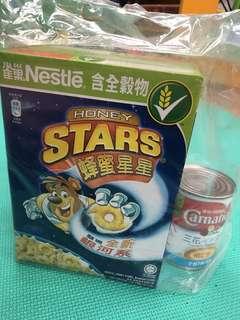 雀巢蜜蜂星星2盒連1罐花奶