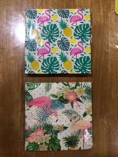 Flamingo / tropical serviette