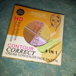 Contour correct naked 4in1