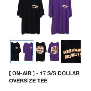 ON AIR Dollar oversize tee