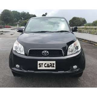 TOYOTA RUSH 1.5A FOR RENT!