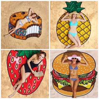 Instock Quirky Beach Mats / Throwovers