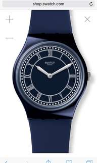 Swatch 'Blue Ben' limited edition